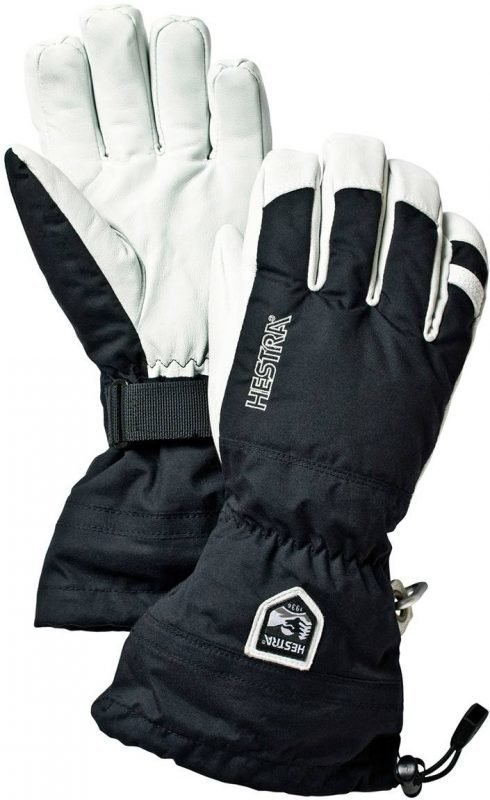 Hestra Army Leather Heli Ski Glove Musta 9