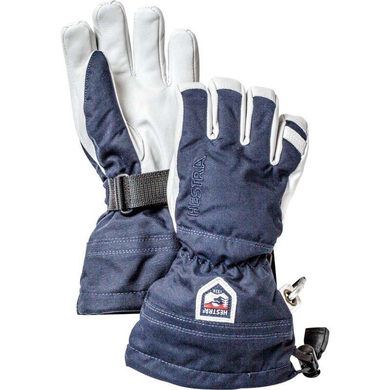 Hestra Army Leather Heli Ski Jr 3 Marin