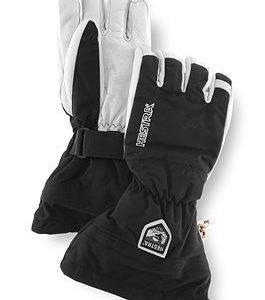 Hestra Army Leather Heli Ski sormikas musta