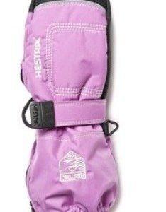 Hestra Baby Zip Long vaaleanpunainen rukkanen