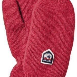 Hestra Basic Wool Mitt Punainen 9