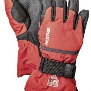 Hestra CZone Gauntlet Jr punainen sormikas