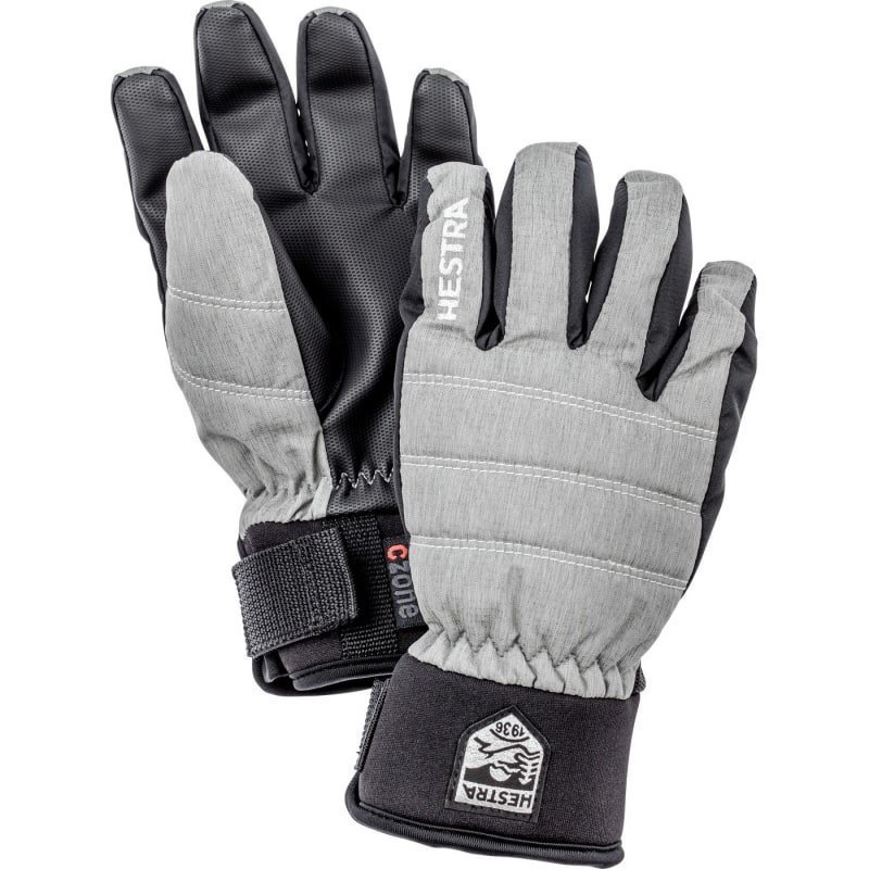 Hestra CZone Primaloft Jr 3 Light Grey