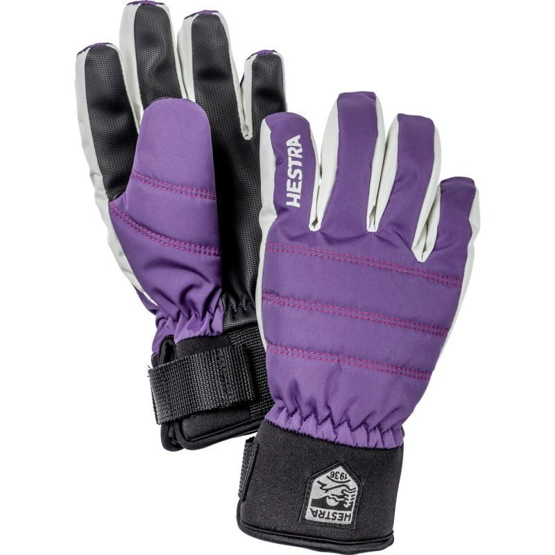 Hestra CZone Primaloft Jr 5 Purple