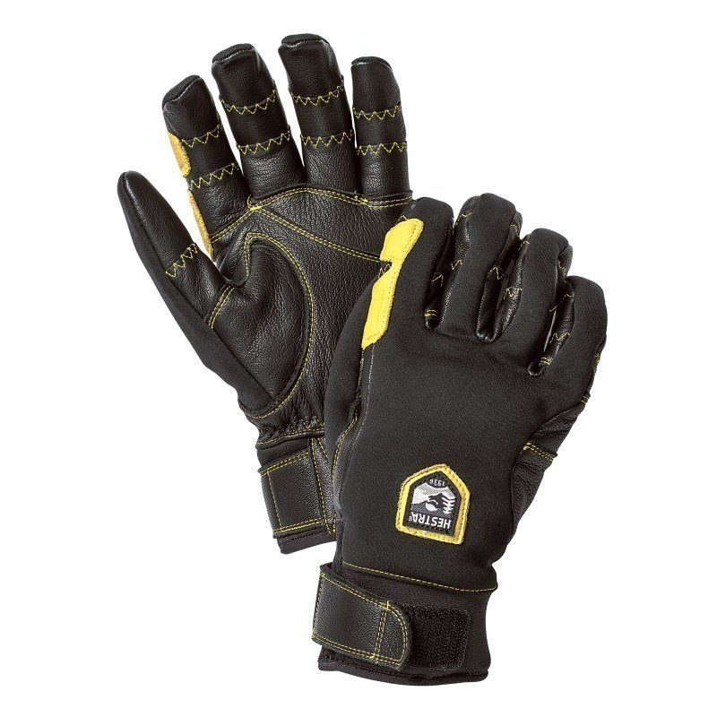 Hestra Ergo Grip Active 7 Black/Black