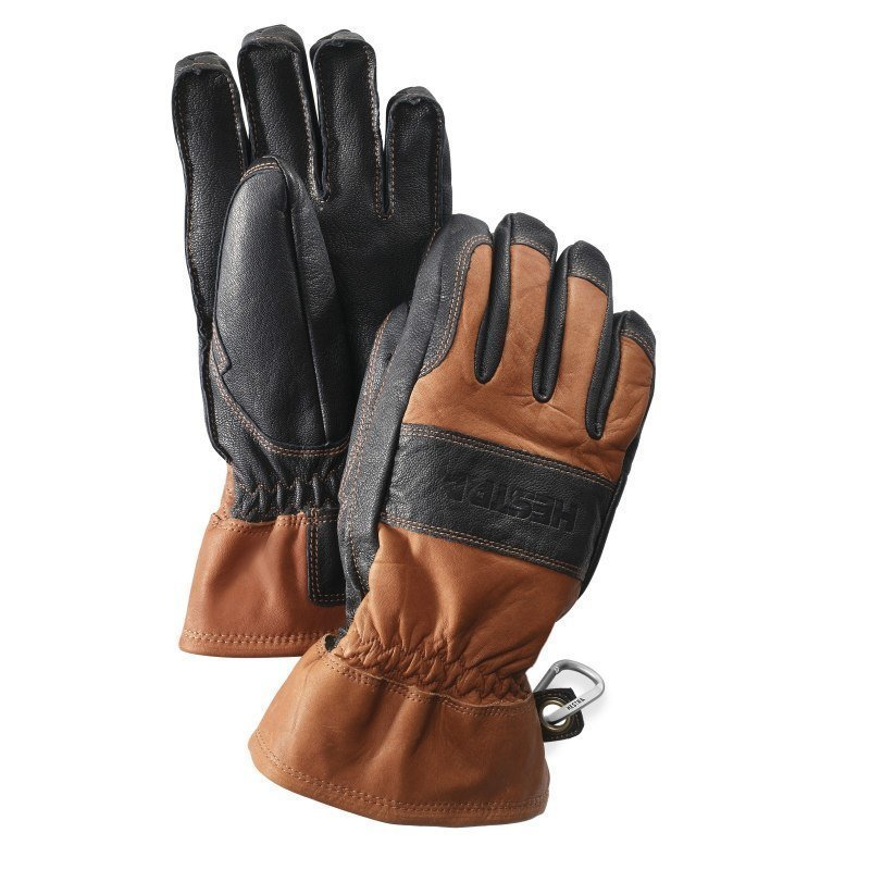 Hestra Fält Guide Glove 6 Brown/Black