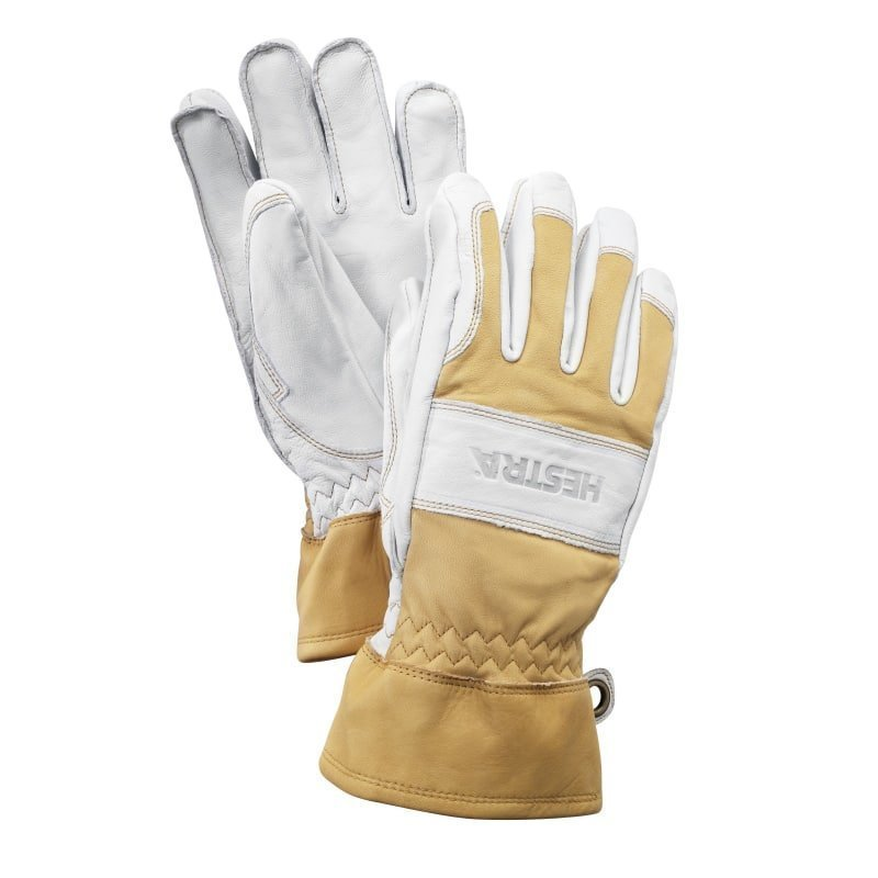 Hestra Fält Guide Glove 8 Natural Yellow/Off White