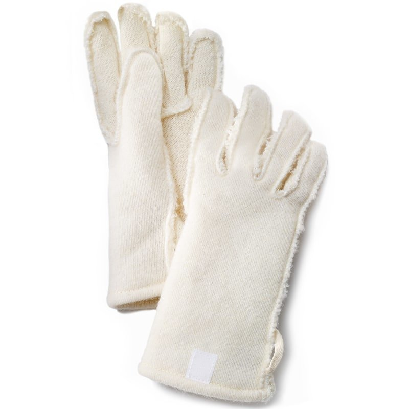 Hestra Foder Guide Leather 6 Offwhite