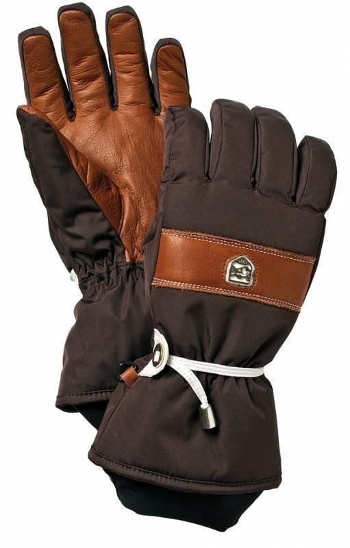 Hestra Gletch CZone naisten sormikas ruskea