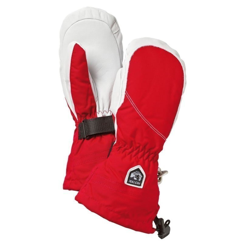 Hestra Heli Ski Female Mitt 9 Red/Offwhite