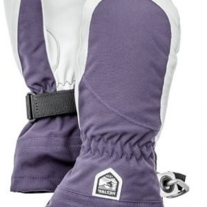 Hestra Heli Ski Female Mitts Plum 7