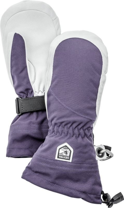 Hestra Heli Ski Female Mitts Plum 8