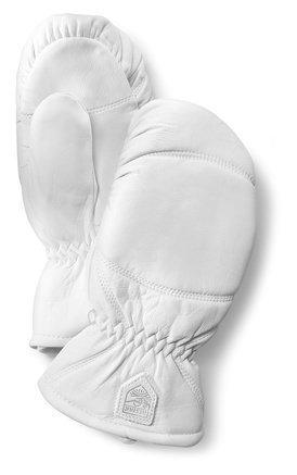 Hestra Leather Box Mitt rukkanen valkoinen