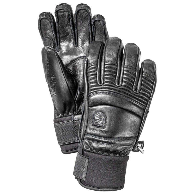 Hestra Leather Fall Line - 5-finger 6 Black