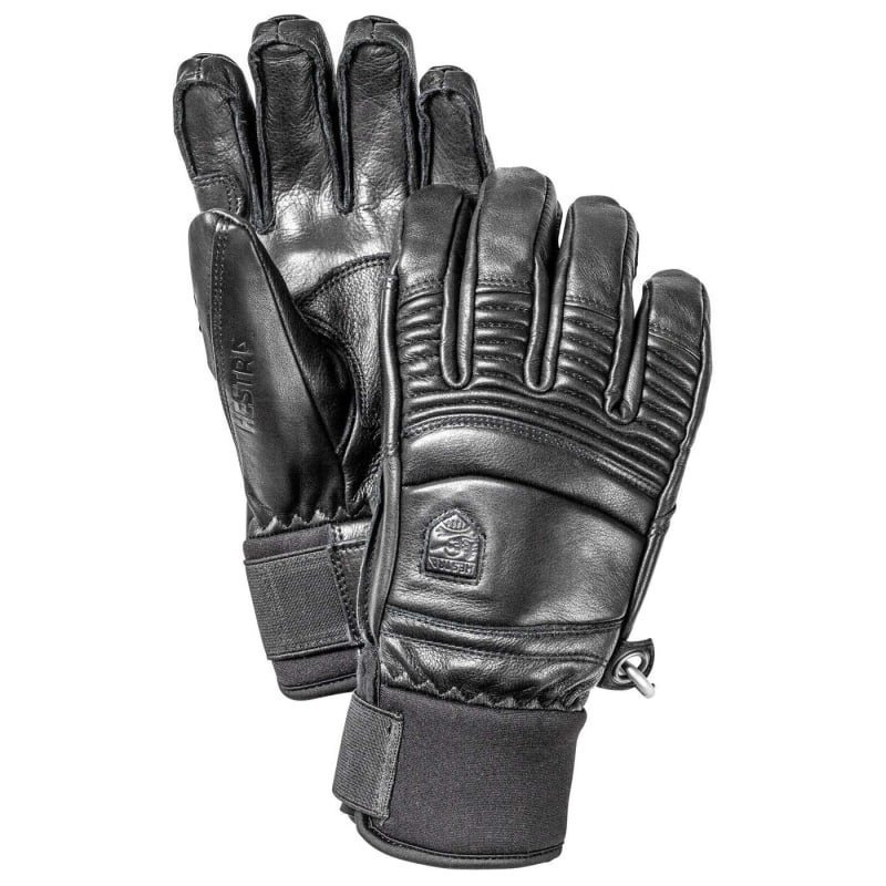 Hestra Leather Fall Line - 5-finger 8 Black