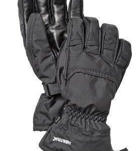Hestra Loft Flex Leather miesten toppakäsine musta