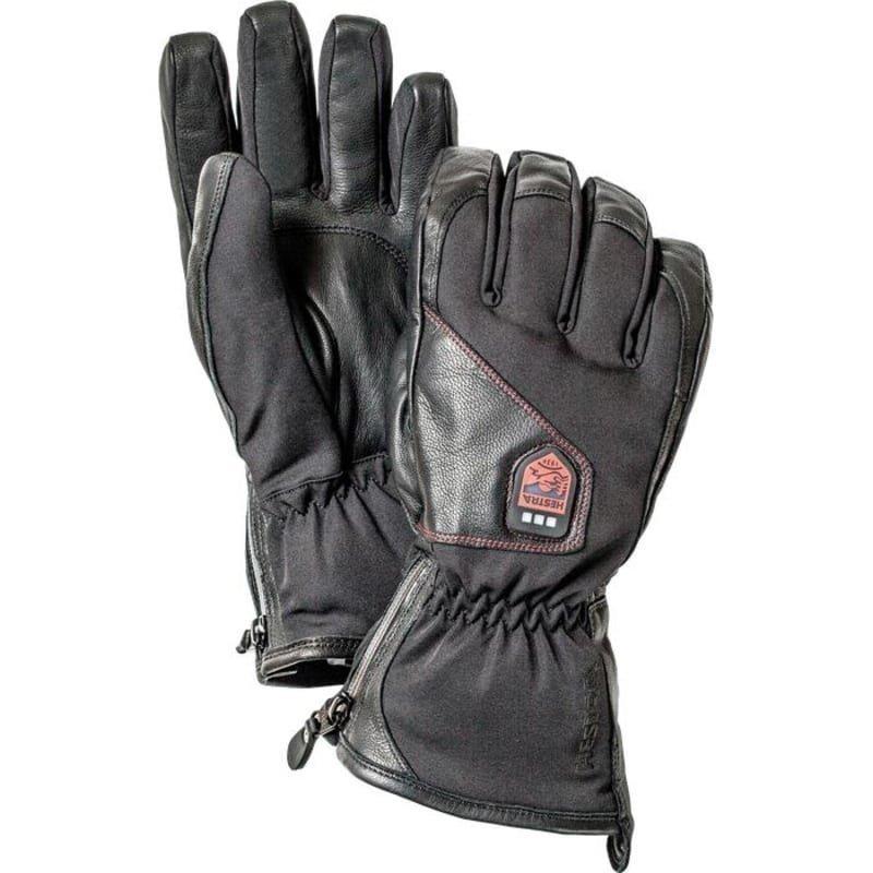 Hestra Power Heater - 5 finger 6 Black