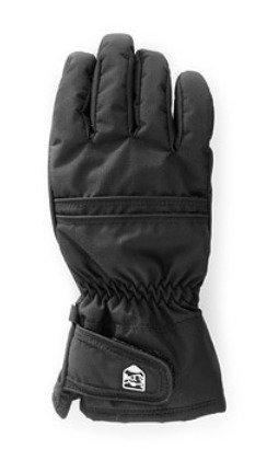 Hestra Primaloft Leather naisten sormikas musta