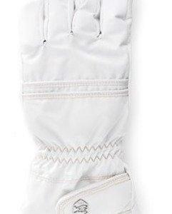 Hestra Primaloft Leather naisten sormikas valkoinen