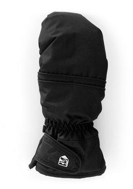 Hestra Primaloft Leather naisten topparukkanen musta