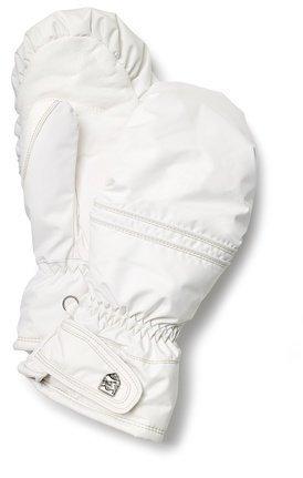 Hestra Primaloft Leather naisten topparukkanen valkoinen