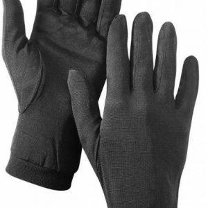Hestra Silk Liner musta sisäsormikas