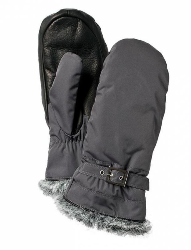 Hestra Winter Forest naisten rukkanen harmaa