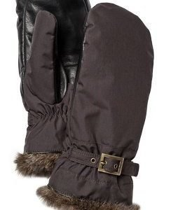 Hestra Winter Forest naisten rukkanen ruskea