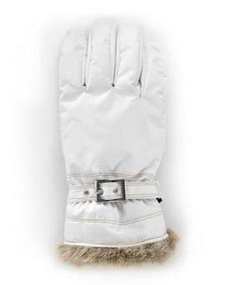 Hestra Winter Forest naisten sormikas valkoinen