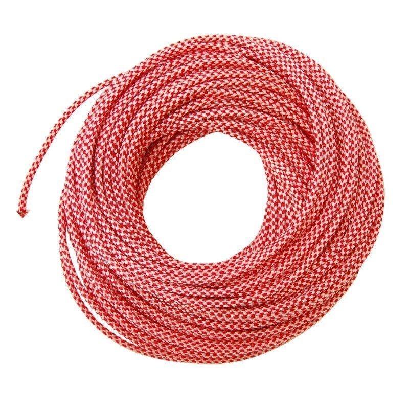 Hilleberg Tältlina 3mm/25m ONE SIZE RED/WHITE