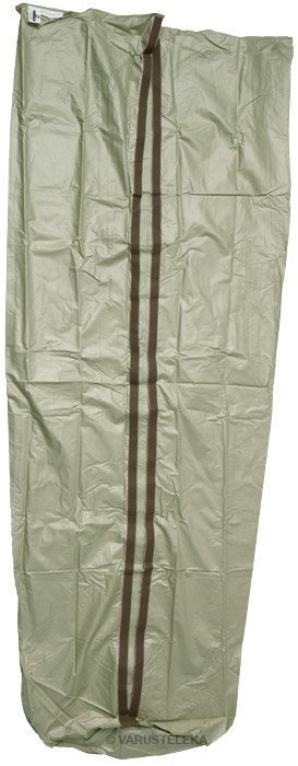 Hollantilainen makuupussin sisäpussi velcrosululla ylijäämä