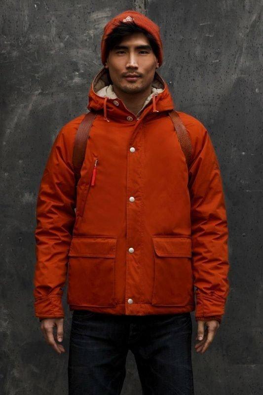 Holubar Short Hunter Jacket Tumma oranssi L