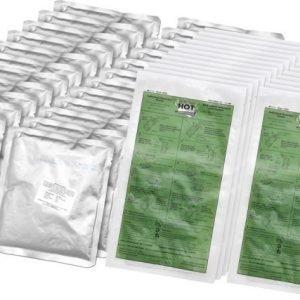 Hot Pack taistelumuona-annos lämmityspussilla 24-pack