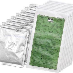 Hot Pack taistelumuona-annos lämmityspussilla 8-pack