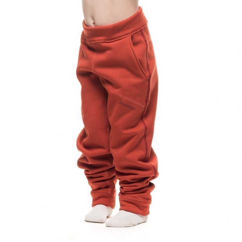 Houdini Kids Toasty Pants 130 Burned Red