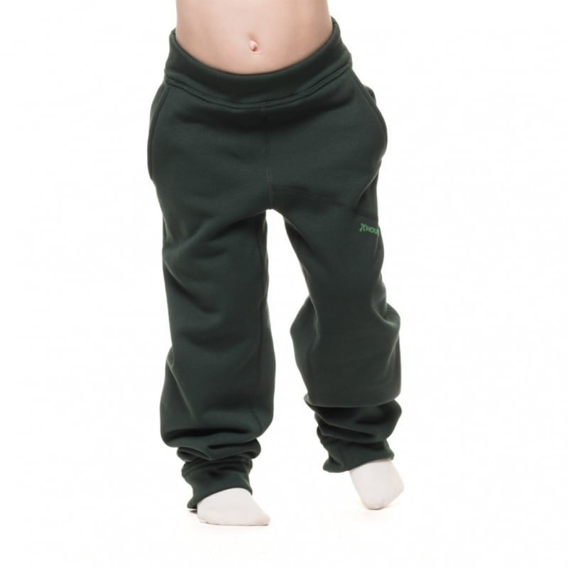 Houdini Kids Toasty Pants 140 Twin Peaks Green