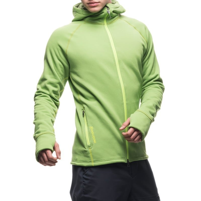 Houdini Men's Power Houdi L Clover Green