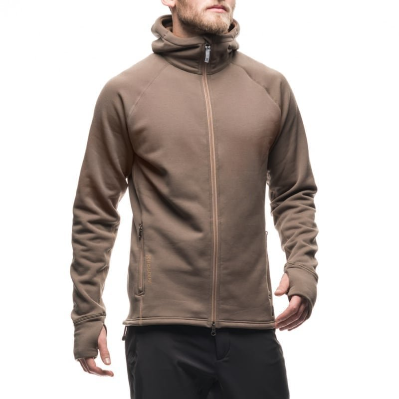 Houdini Men's Power Houdi XS Cheroot Brown