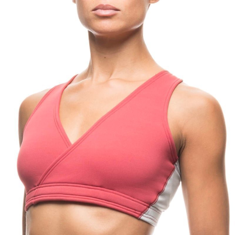Houdini Mix Wrap Bra