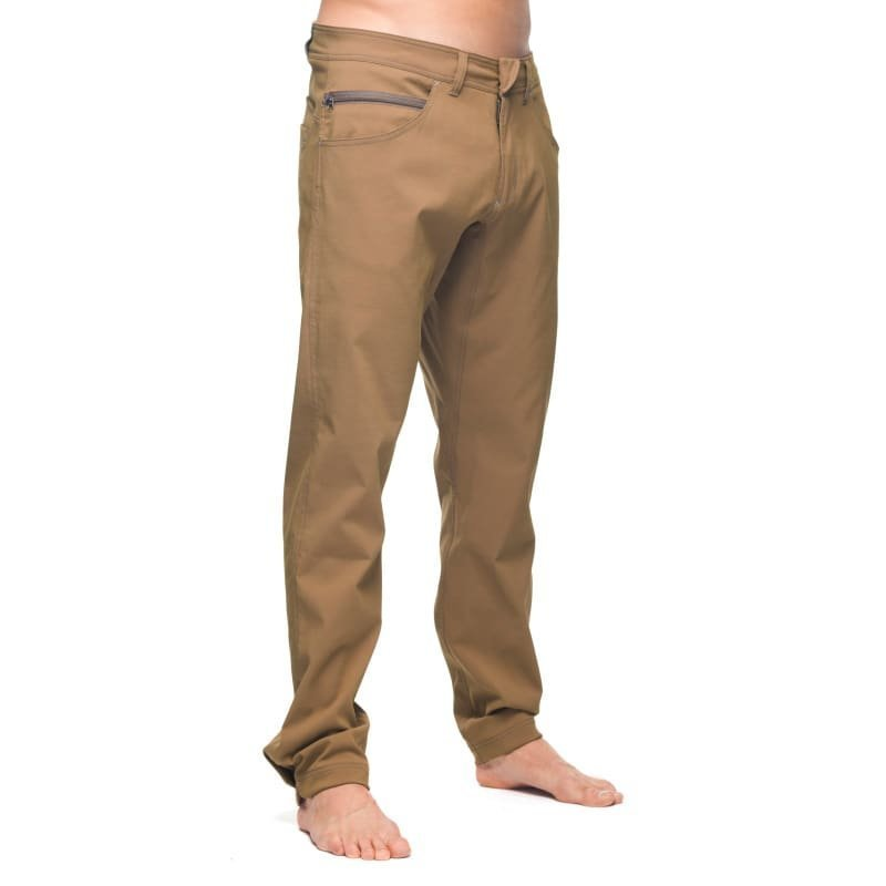 Houdini M's Action Twill Pants S Crust Brown