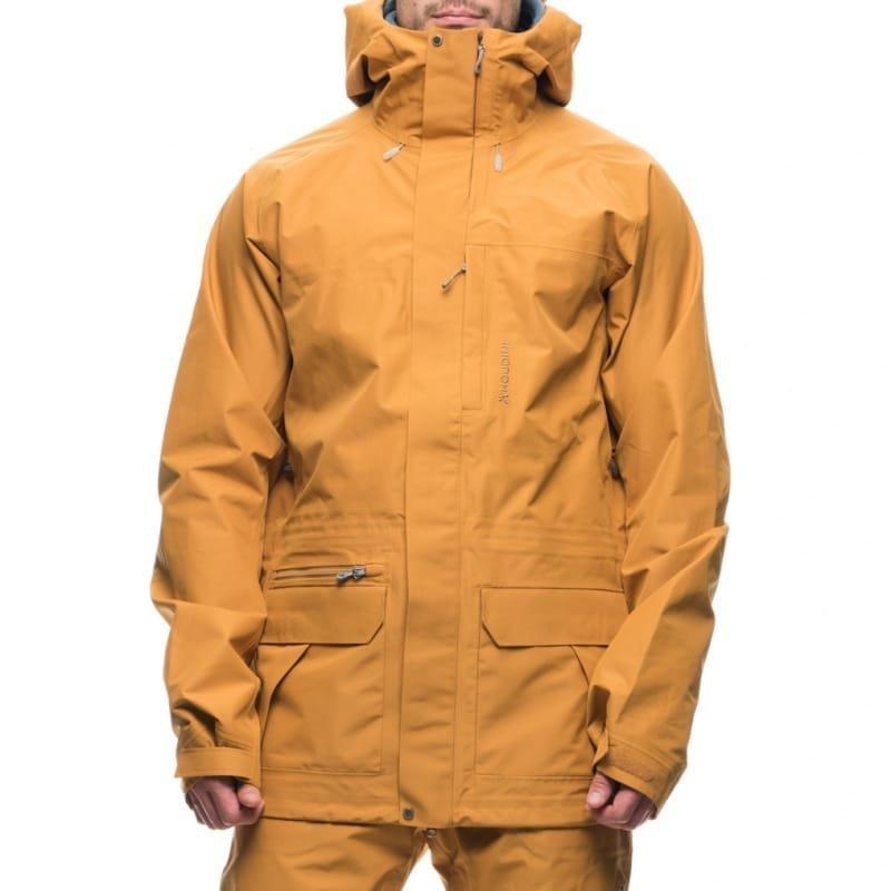 Houdini M's Corner Jacket M Donovan Yellow