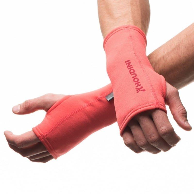 Houdini Power Wrist Gaiters M Canned Cherry Pink