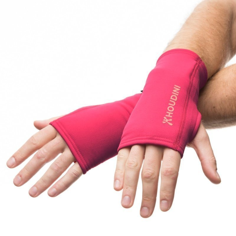 Houdini Power Wrist Gaiters M China Pink