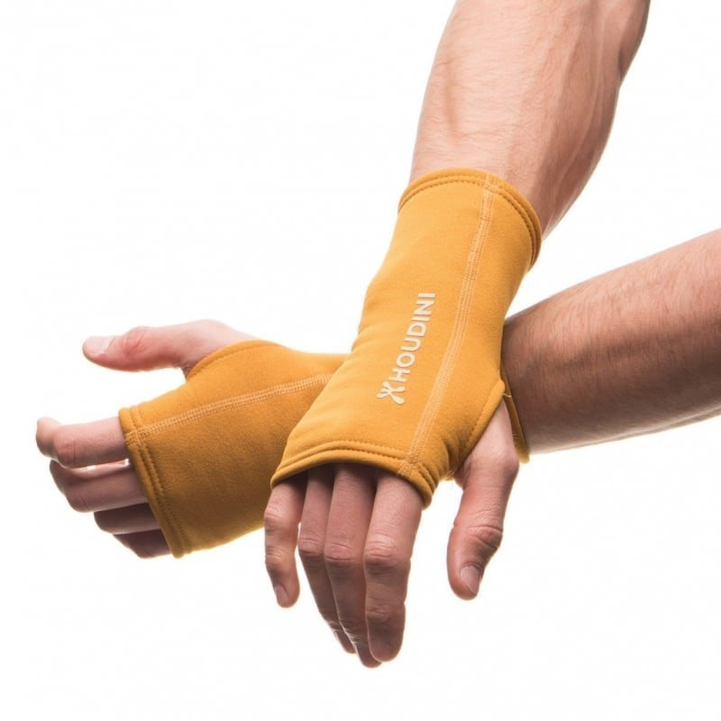 Houdini Power Wrist Gaiters M Donovan Yellow