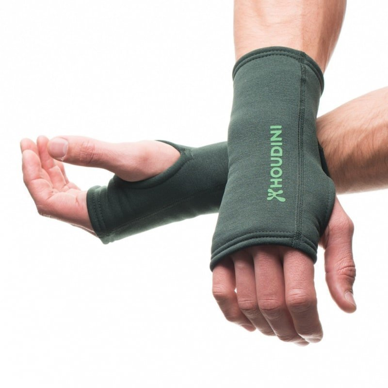 Houdini Power Wrist Gaiters M TWIN PEAKS GREEN