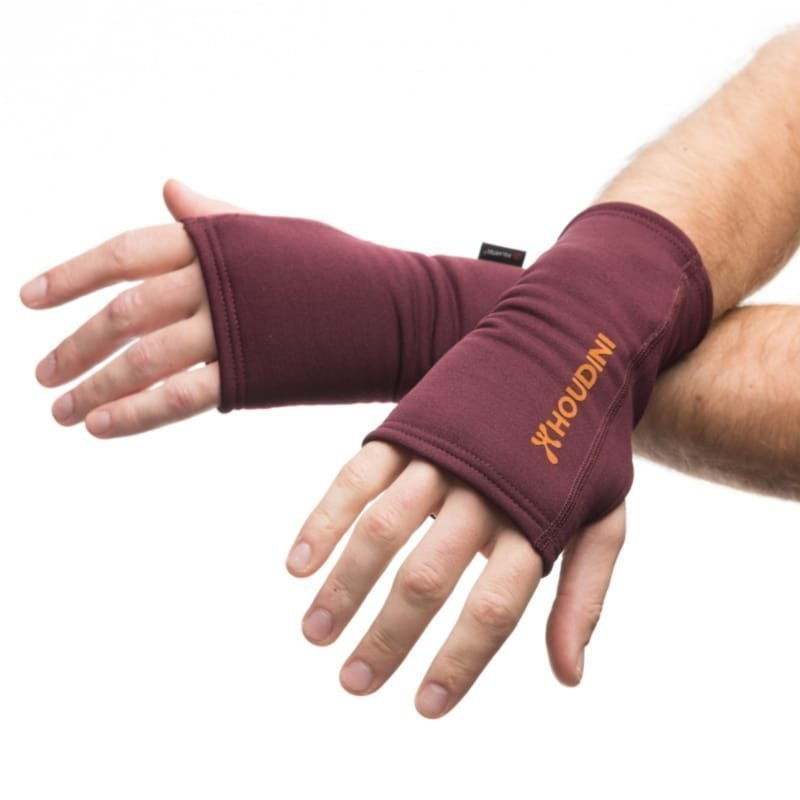 Houdini Power Wrist Gaiters S Breaking Red