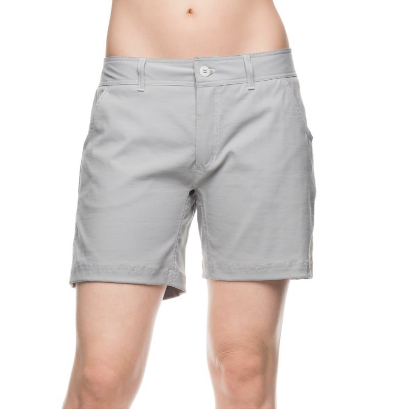 Houdini W's Action Twill Shorts L Apollo Grey