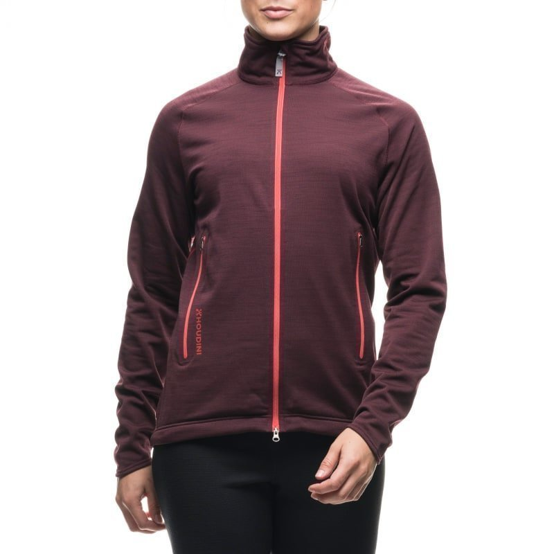 Houdini W's Outright Jacket S Optical Red