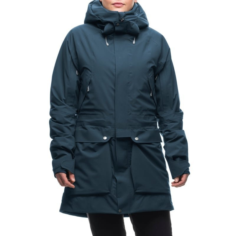 Houdini W's Spheric Parka M Rider Blue