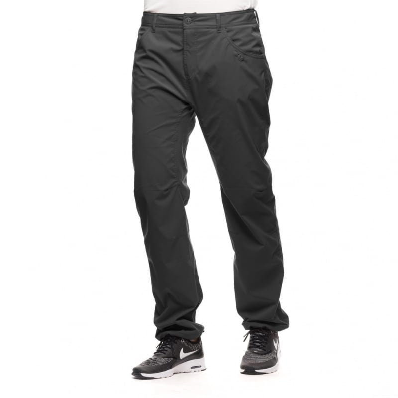 Houdini W's Thrill Twill Pants XL Rock Black